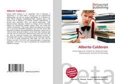 Bookcover of Alberto Calderon