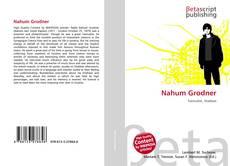 Nahum Grodner的封面