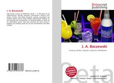 Bookcover of J. A. Baczewski