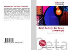 Bookcover of Ralph Beckett, 3rd Baron Grimthorpe