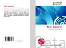 Bookcover of Ralph Benjamin