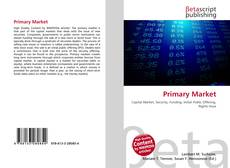 Bookcover of Primary Market