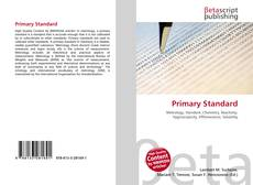 Copertina di Primary Standard