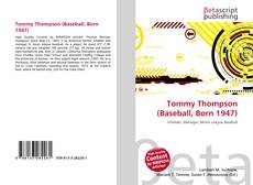 Copertina di Tommy Thompson (Baseball, Born 1947)