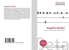 Copertina di Rüppell's Warbler