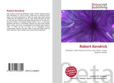 Bookcover of Robert Kendrick