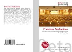 Primavera Productions kitap kapağı