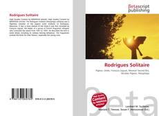 Capa do livro de Rodrigues Solitaire