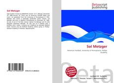 Bookcover of Sol Metzger