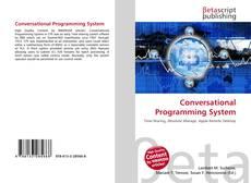 Conversational Programming System kitap kapağı