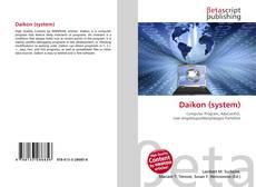 Capa do livro de Daikon (system)