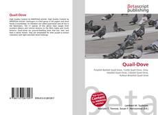 Capa do livro de Quail-Dove