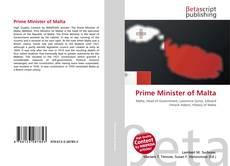 Prime Minister of Malta的封面