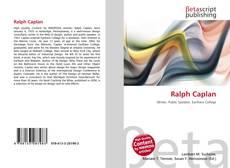 Buchcover von Ralph Caplan