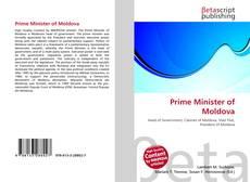 Portada del libro de Prime Minister of Moldova