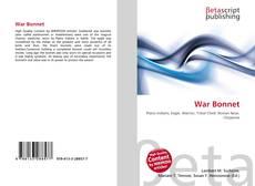 Couverture de War Bonnet