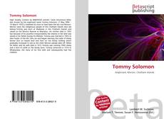 Bookcover of Tommy Solomon