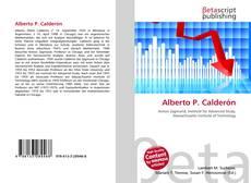 Bookcover of Alberto P. Calderón