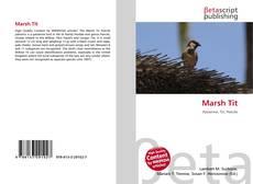 Marsh Tit kitap kapağı