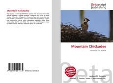 Mountain Chickadee kitap kapağı