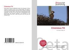 Cinereous Tit kitap kapağı