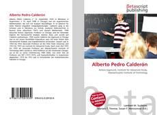 Portada del libro de Alberto Pedro Calderón
