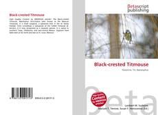 Black-crested Titmouse kitap kapağı