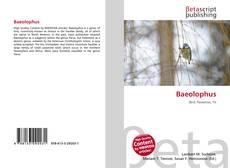 Baeolophus kitap kapağı