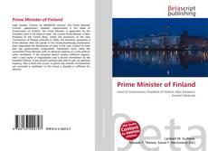 Prime Minister of Finland的封面