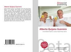Portada del libro de Alberto Quijano Guerrero