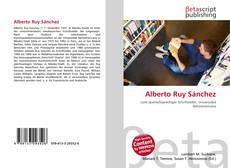 Bookcover of Alberto Ruy Sánchez