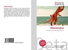 Albertonykus的封面