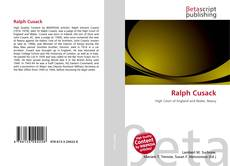 Bookcover of Ralph Cusack