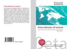 Portada del libro de Prime Minister of Iceland