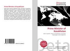 Portada del libro de Prime Minister of Kazakhstan