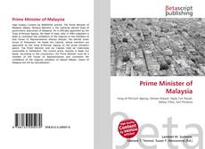 Portada del libro de Prime Minister of Malaysia