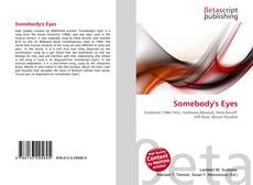 Bookcover of Somebody's Eyes