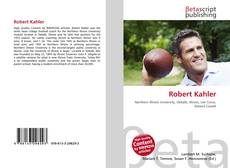 Bookcover of Robert Kahler