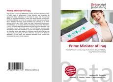Portada del libro de Prime Minister of Iraq