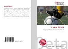 Capa do livro de Victor Sikora