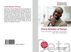 Portada del libro de Prime Minister of Kenya