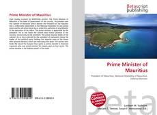 Prime Minister of Mauritius kitap kapağı