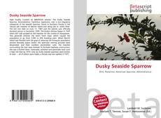 Обложка Dusky Seaside Sparrow