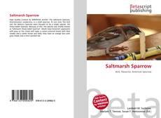 Bookcover of Saltmarsh Sparrow