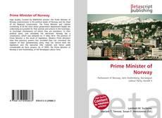 Prime Minister of Norway kitap kapağı