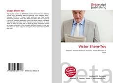 Portada del libro de Victor Shem-Tov