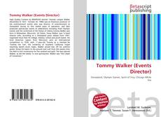 Bookcover of Tommy Walker (Events Director)