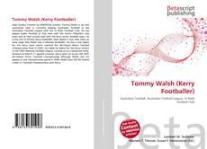 Portada del libro de Tommy Walsh (Kerry Footballer)