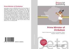 Bookcover of Prime Minister of Zimbabwe