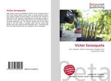 Victor Sarasqueta kitap kapağı